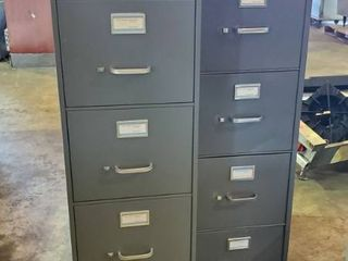 2  5 Drawer Filing Cabinets
