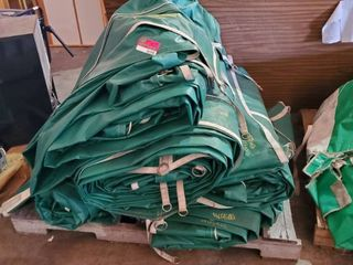 Pallet Of Tarps  Unknown Size