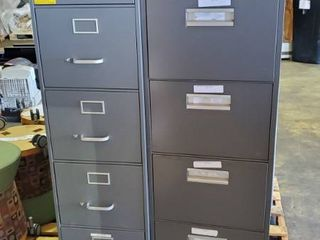 3  File Cabinets