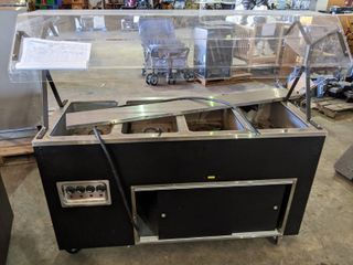 4 Well Portable Steam Table