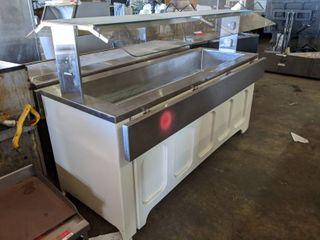 Rolling Ice Well Salad Bar