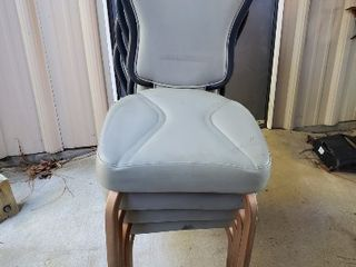 4  Banquet Hall Dining Chairs
