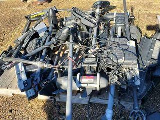 Pallet Of Trolling Motors Parts