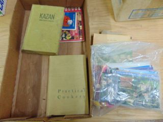 Miscellaneous vintage books