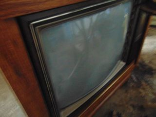 Console TV   Working Condition