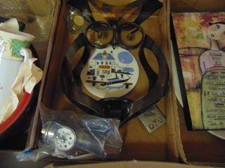 Miscellaneous Tin Owl Decor