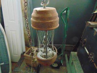 Oil lamp   for parts or repair