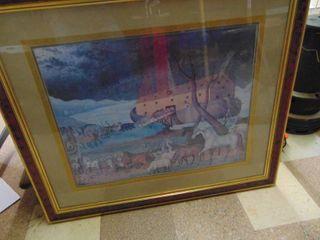 Painting Print   Decor   Noah s Arc