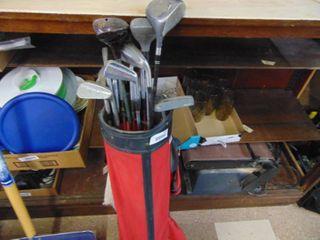 Vintage Golf Clubs   mixture