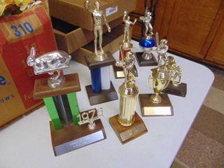 Assorted Vintage Trophies
