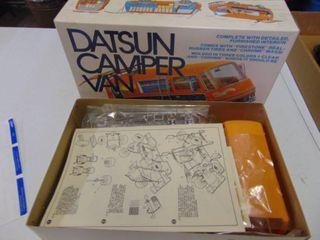 Mini Kraft Datsun Van Model
