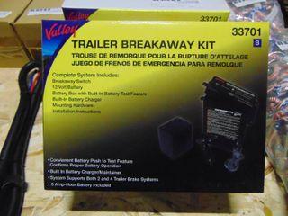 Valley Trailer Breakaway Kit  33701 New   Unopened