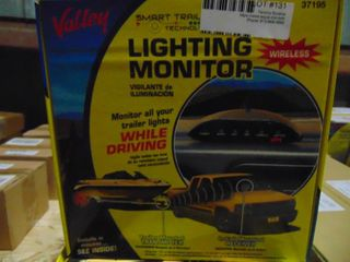 Valley wireless Trailer lighting Monitor  37195 New Unopened Box