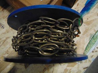 Bright Brass Decor Chain approx  50 ft