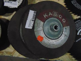 4 concave Grinding Wheels