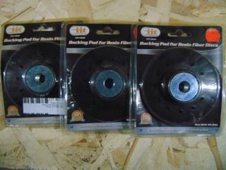 Backing Pads For Resin Fiber Discs