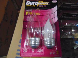 192 Clear Bent Tip light Bulbs