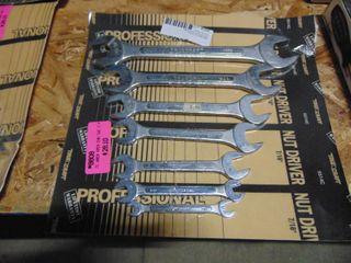 SAE Wrench Set