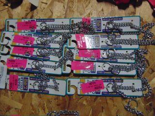 10 Chain Dog Collars