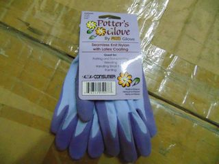 Women s Seamless Knit Nylon Potter s Gloves  6 Pairs