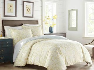 Stone Cottage Day lilly Yellow Comforter Set  Retail 116 64