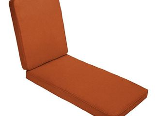 Rust Orange Patio Cushion