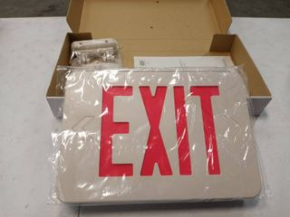 5 lED emergency exit lighting fixture double faced