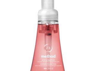 5 bottles MethodPink Grapefruit Foaming Hand Soap   10 fl oz