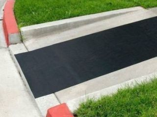 Rubber Cal ramp cleat traction mat