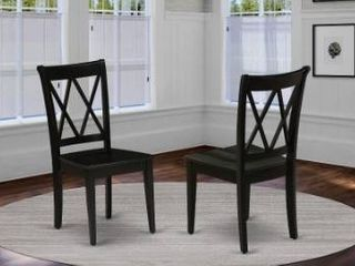 clarksville double x back chairs
