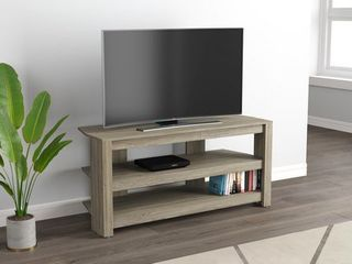 Tv Stand 42l Dark Taupe 2 Open Concept Shelves   42 inch   42 inch Retail 103 49