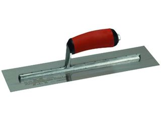 MXS62D 4  X 12  DuraSoft High Carbon Steel Xtralite Finishing Trowel  RUSTED