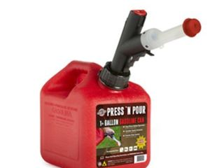 GarageBOSS Press  N Pour 1  Gallon Gas Can