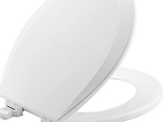 Church Easy Clean And Change Whisper Close Round Toilet Seat