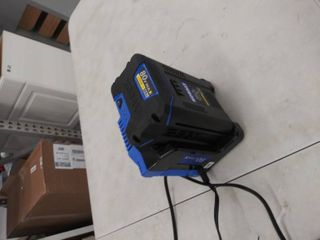 80v max lithium ion 2 5Ah battery and charger  working condition unknown