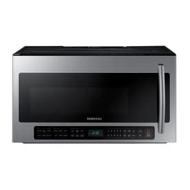 Samsung 2 cu ft Over the Range Microwave with Sensor Cooking Controls  Stainless Steel   Common  30 in  Actual  29 875 in