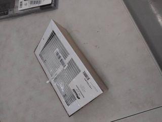 10 X 6 Baseboard Register White