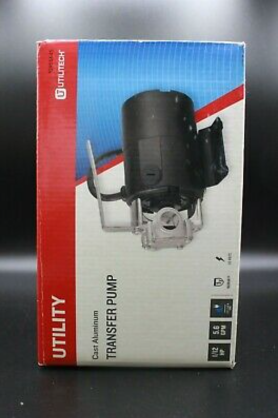 Utilitech 1 12 Hp Stainless Steel lawn Transfer Pump Free Shipping