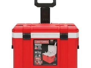 Craftsman 30 quart Wheeled Insulated Chest Cooler Portable Heavy Duty Cmst17824