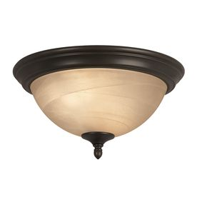 Portfolio 13 in W Bronze Ceiling Flush Mount