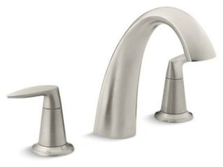 KOHlER K T45115 4 BN Alteo Bath Faucet Trim  Valve Not Included  Vibrant Brushed Nickel