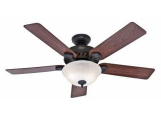 Hunter Regalia Ii 60 in Bronze led Indoor Ceiling Fan   5 blade