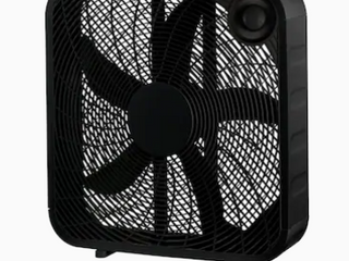 Utilitech 20  3 1 Speed Box Fan   Not Inspected
