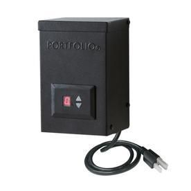 Portfolio Multi Tap landscape lighting Transformer with Digital Timer