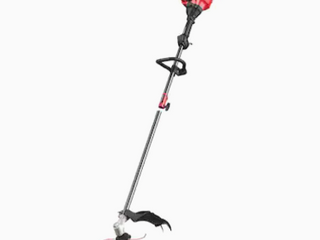 17 Inch Straight Shaft Gas String Trimmer With Attachment And Edger 2 Cycle 25cc   Not Inspected