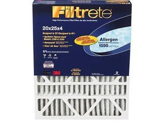 3M Filtrete 20x25x4 Allergen Reduction Air Filter  FIlTER IS DENTED