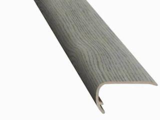Smart Core Coordinating Trim Stair Cap 94 inch Grey   set of 6
