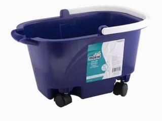 Moxie Roller Bucket 3 gallon   As Is 1 wheel broke
