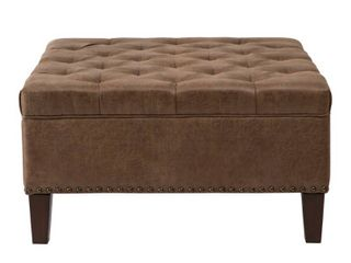 Madison Park Alice Tufted Square Cocktail Ottoman  Retail 315 49