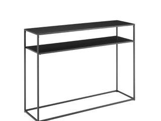 Braxton Console Table   42 W x 12 D x 30 H  Retail 113 99
